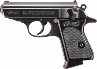 "Walther PPK 380ACP 3.3"" Barrel 6+1 Black 4796002"