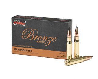 PMC Bronze 308WIN 150 Grain SP 20Rd Box 308SP - 5 Box Min