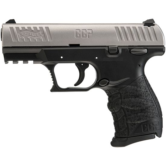 """Walther CCP 9MM 3.54"""" Barrel SS 8+1 5080301"""