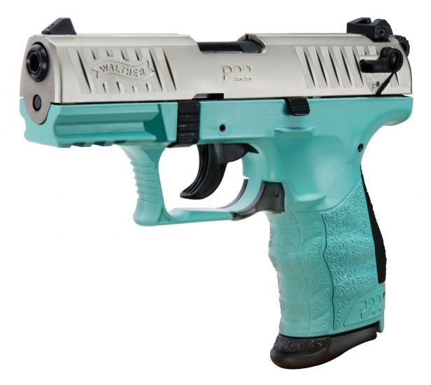Walther P22-CA 22LR 3 4