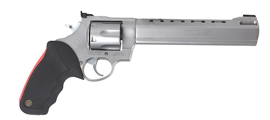 Taurus 444 Raging Bull 44 Mag 8 375 Ported Barrel 6rd Rubber Grip Matte Stainless 2444089