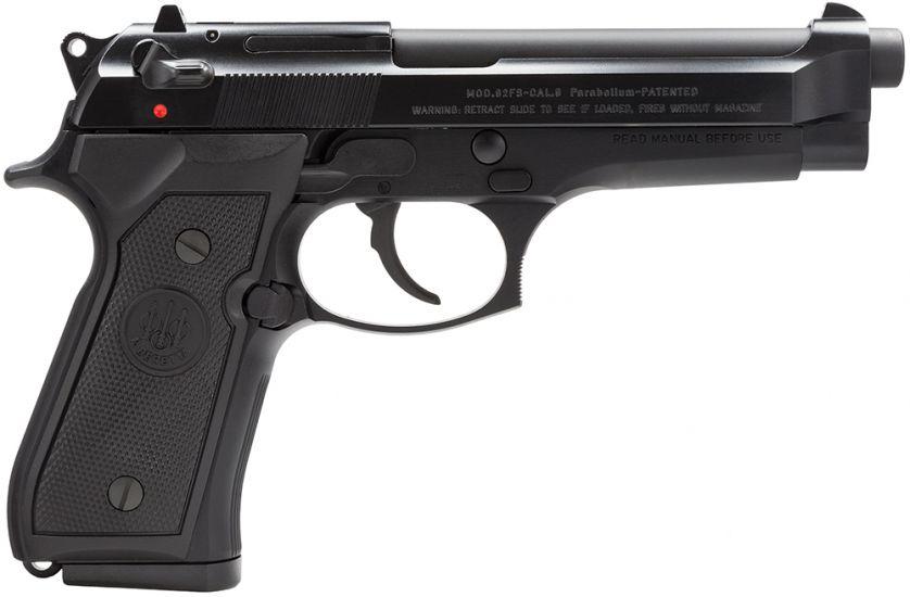 Beretta 9mm 92FS Italian 49 Barrel 15 1 Black JS92F300M