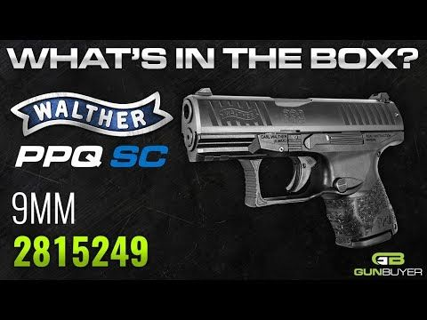 Walther Arms PPQ SC 9mm 3 5