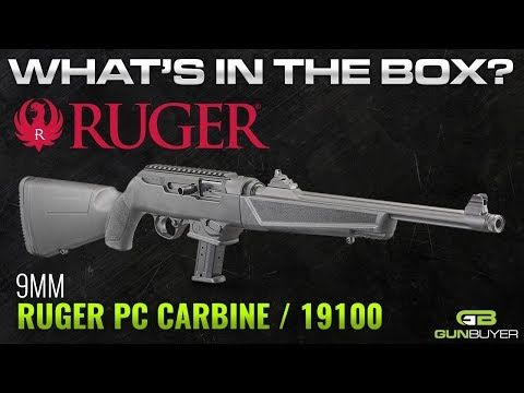Ruger PC Carbine 9mm 16 12