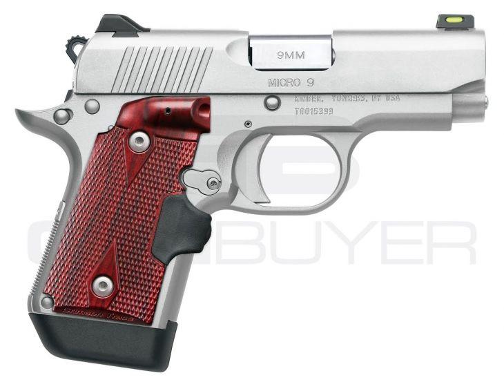 Kimber Micro 9 Stainless 9mm 3 15