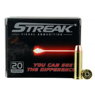 AMMO 38125TMCSTRKRED STREAK 38SPC 125TMC RED 20/10