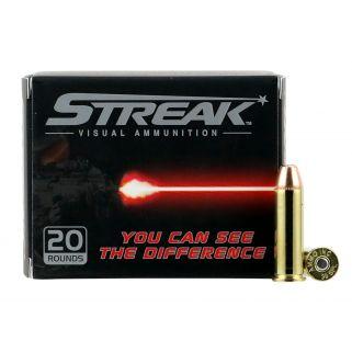AMMO 38125JHPSTRKRED STREAK 38SPC 125JHP RED 20/10