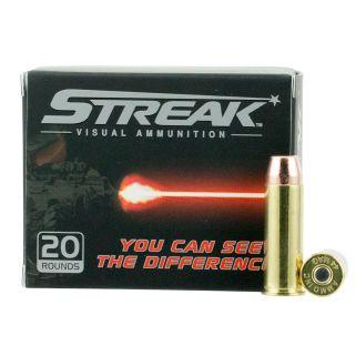 AMMO 44240TMCSTRKRED STREAK 44MAG 240TMC RED 20/10