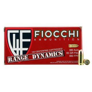 FIO 380ARD10 380 95 FMJ RANGE PK 100/10