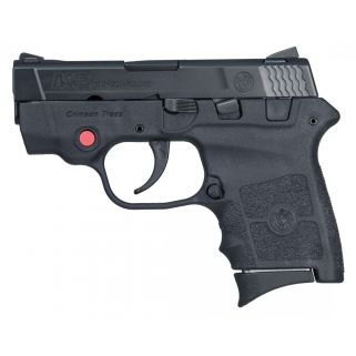 "Smith & Wesson M&P Bodyguard 380ACP 2.75"" Barrel W/ Crimson Trace Red Laser 10265"