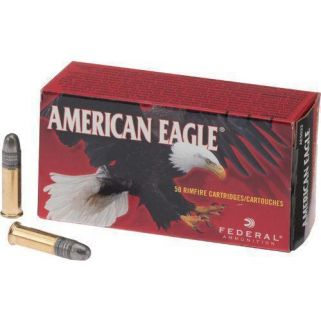 Federal AE High-Velocity 22LR Solid 40 Gr 50 Rd Box AE5022