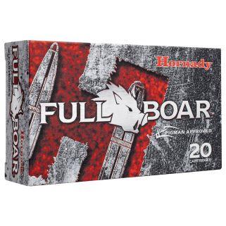 Hornady Full Boar 300 Blackout 110 Grain GMX 20 Round Box 80874