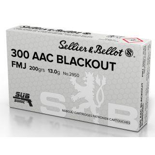 MAGTECH 300BLKSUBA 300BO 200 FMJ SUBSONIC 50/20