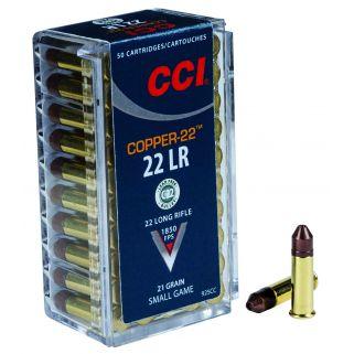 CCI 925CC 22 LR COPPER 21 CHP 50/100