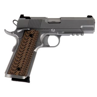 "CZ DW Specialist Command 9mm Lguer 4.25"" BarrelNight sights 9+1 G10 Grips/Stainless 01896"
