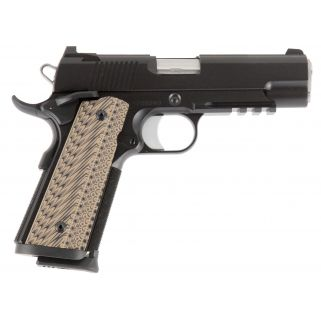 "CZ DW Specialist Command 9mm 4.25"" BarrelNight Sights 9+1 G10 Grips/Forged Stainless 01895"