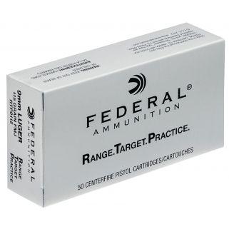 FED RTP9115 9MM 115 FMJ RNGTRT 50/20