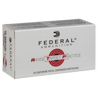 FED RTP38130 38SP 130 FMJ RNGTRT 50/20