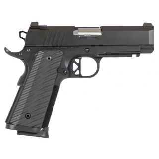 "CZ DW Tactical Commander Pistol 9mm 4"" BarrelBrass Front-U Notch Rear Sights 8+1 Black 01845"