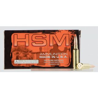 HSM 65CREEDMOOR2N 6.5CRD 140 LOW RECOIL 20/10