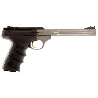 "Browning Buck Mark 22LR 7.25"" Barrel W/ TruGlo Fiber Optic-Pro Target Sights 10+1 Matte Black/Gray 051517490"