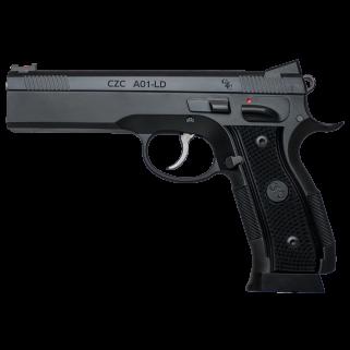 "CZ AO1-LD 9mm Custom 4.925"" Barrel 19+1 Steel 91731"