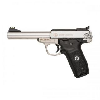 """Smith & Wesson Victory 22LR 5.5"""" Barrel 10+1 SS 108490"""