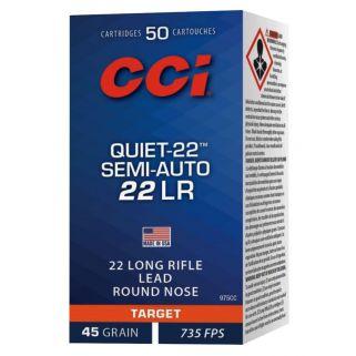 CCI 975CC 22 LR QUIET 45 LRN 50/100