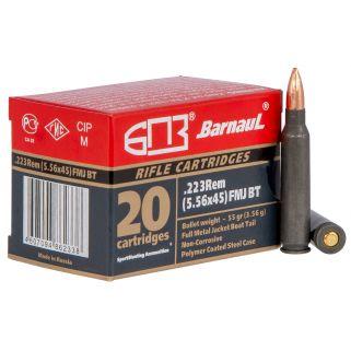 BARNAUL 223REMFMJ55 223REM 55 FMJ 500RD