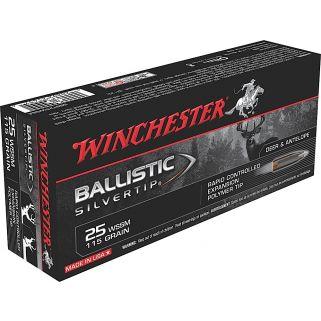 Winchester Ballistic Silvertip 25WSSM 85 Grain 20 Round Box SBST25WSS