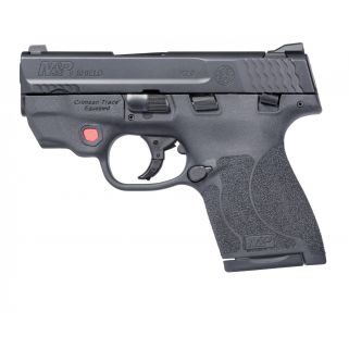 "Smith & Wesson M&P9 Shield M2.0 w/Integrated Crimson Trace 3.1"" Barrel 7+1/8+1 Manual Thumb Safety 11671"