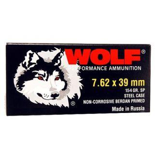 WOLF 762BSP 7.62X39 SP SS 125 1000