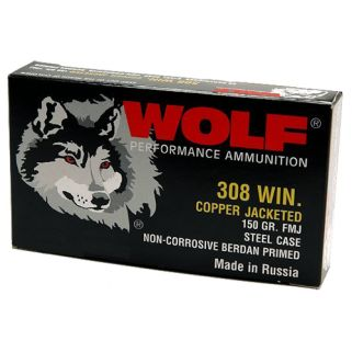 WOLF 308FMJ 308 WIN FMJ SS 145 500