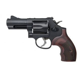 """Smith & Wesson PC Model 19 K-Comp 357 Magnum / 38S&W Special +P 3"""" Barrel w/ Front Tritium NS 6 Rd Wood Grips 12039"""