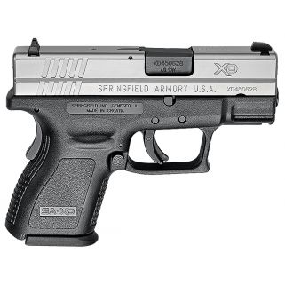 "Springfield Armory XD Sub-Compact 40S&W 3"" Barrel 9+1 Stainless *CA Compliant* XD9822"