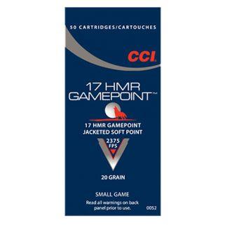 CCI 0052 17HMR 20 GAMEPOINT 50/40