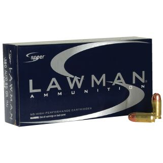 SPEER 53608 LAWMAN 380ACP 95 FMJ 50/20