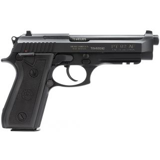 "Taurus 92 Standard 9mm Luger 5"" Barrel 17+1 192015117"
