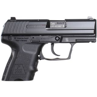 "Heckler & Koch P2000SK V2 LEM 9mm Luger 3.3"" Barrel 10+1 2 Mags *CA Compliant* 709302A5"