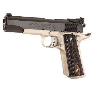 """Colt Special Combat Government 38 Super 5"""" Barrel W/ Heine-Bomar Style Sights 9+1 Two Tone O2580CM"""