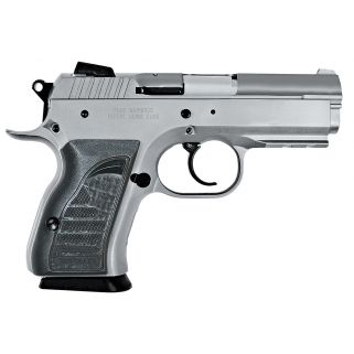 "EAA Witness 40S&W 3.6"" Barrel W/ Adjustable Sights 12+1 Black Grip/Stainless 999098"