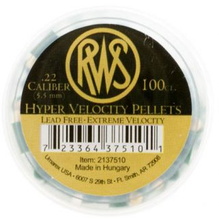 RWS 2137510 HYPER VEL 22 PELS 100