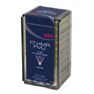 CCI 0055 17HMR 20 FMJ 50/40