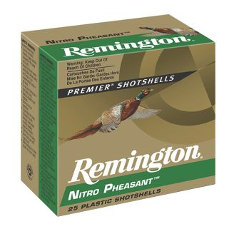 "Remington Nitro Pheasant Load 20 Gauge 5 Shot 3"" 25 Round Box NP20M5"