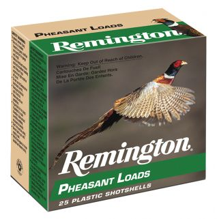 "Remington Pheasant Loads 12 Gauge 4 Shot 2.75"" 25 Round Box PL124"