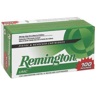 Remington UMC 38 Special 125 Grain 100Rd Box L38S2B