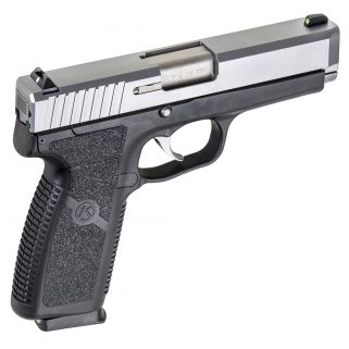Kahr CM9 9mm 3.1 Barrel W/Combat Sights 6+1 Black/Matte Stainless CM9093N