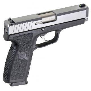 Kahr CM9 9mm 3.1 Barrel W/Combat Sights 6+1 Black/Matte Stainless CM9093N