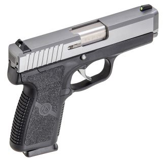 "Kahr CW9 9mm 3.6"" Barrel W/Combat Rear & Front Night Sights 7+1 Black/Matte Stainless CW9093N"
