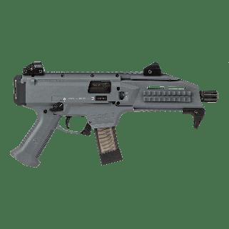 "CZ Scorpion Evo 3 S1 9mm 7.72""  20+1 Battle Gray/Black 91356"